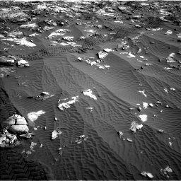 Nasa's Mars rover Curiosity acquired this image using its Left Navigation Camera on Sol 1196, at drive 2770, site number 51