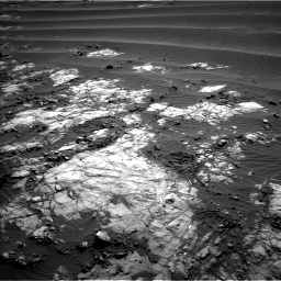 Nasa's Mars rover Curiosity acquired this image using its Left Navigation Camera on Sol 1196, at drive 2842, site number 51