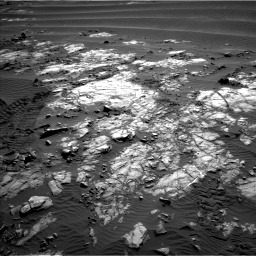 Nasa's Mars rover Curiosity acquired this image using its Left Navigation Camera on Sol 1196, at drive 2854, site number 51