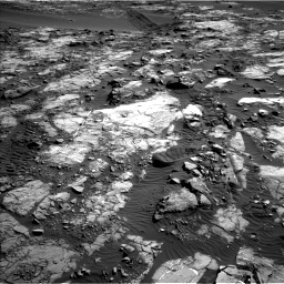 Nasa's Mars rover Curiosity acquired this image using its Left Navigation Camera on Sol 1196, at drive 2908, site number 51