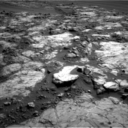 Nasa's Mars rover Curiosity acquired this image using its Left Navigation Camera on Sol 1196, at drive 2920, site number 51
