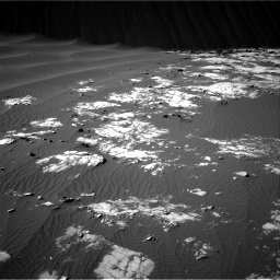 Nasa's Mars rover Curiosity acquired this image using its Right Navigation Camera on Sol 1196, at drive 2704, site number 51