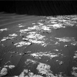 Nasa's Mars rover Curiosity acquired this image using its Right Navigation Camera on Sol 1196, at drive 2710, site number 51