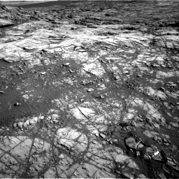 Nasa's Mars rover Curiosity acquired this image using its Right Navigation Camera on Sol 1196, at drive 2728, site number 51