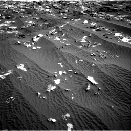 Nasa's Mars rover Curiosity acquired this image using its Right Navigation Camera on Sol 1196, at drive 2776, site number 51