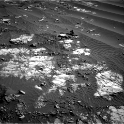 Nasa's Mars rover Curiosity acquired this image using its Right Navigation Camera on Sol 1196, at drive 2806, site number 51