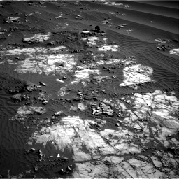 Nasa's Mars rover Curiosity acquired this image using its Right Navigation Camera on Sol 1196, at drive 2812, site number 51