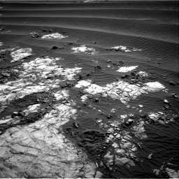 Nasa's Mars rover Curiosity acquired this image using its Right Navigation Camera on Sol 1196, at drive 2836, site number 51