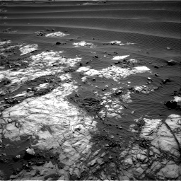 NASA's Mars rover Curiosity acquired this image using its Right Navigation Cameras (Navcams) on Sol 1196