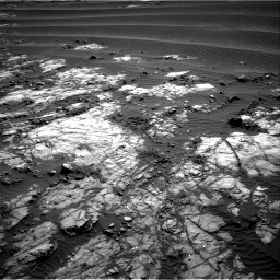 Nasa's Mars rover Curiosity acquired this image using its Right Navigation Camera on Sol 1196, at drive 2848, site number 51