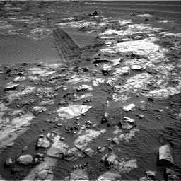 Nasa's Mars rover Curiosity acquired this image using its Right Navigation Camera on Sol 1196, at drive 2878, site number 51