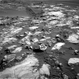 Nasa's Mars rover Curiosity acquired this image using its Right Navigation Camera on Sol 1196, at drive 2890, site number 51