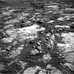 Nasa's Mars rover Curiosity acquired this image using its Right Navigation Camera on Sol 1196, at drive 2908, site number 51