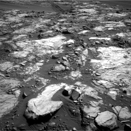 Nasa's Mars rover Curiosity acquired this image using its Right Navigation Camera on Sol 1196, at drive 2914, site number 51