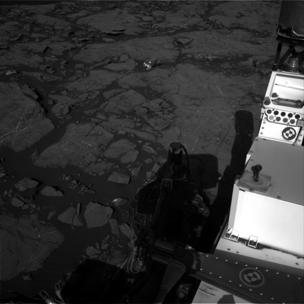 Nasa's Mars rover Curiosity acquired this image using its Right Navigation Camera on Sol 1196, at drive 2938, site number 51