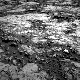 Nasa's Mars rover Curiosity acquired this image using its Right Navigation Camera on Sol 1196, at drive 2962, site number 51