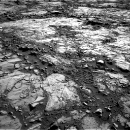 Nasa's Mars rover Curiosity acquired this image using its Right Navigation Camera on Sol 1196, at drive 2968, site number 51