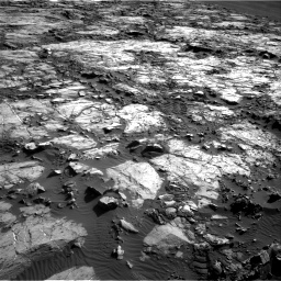 Nasa's Mars rover Curiosity acquired this image using its Right Navigation Camera on Sol 1196, at drive 2980, site number 51