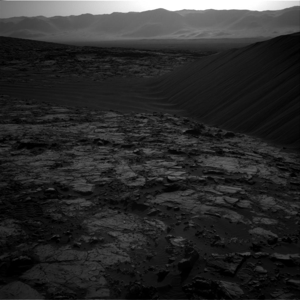 Sol 1196 Navcam Namib Dune