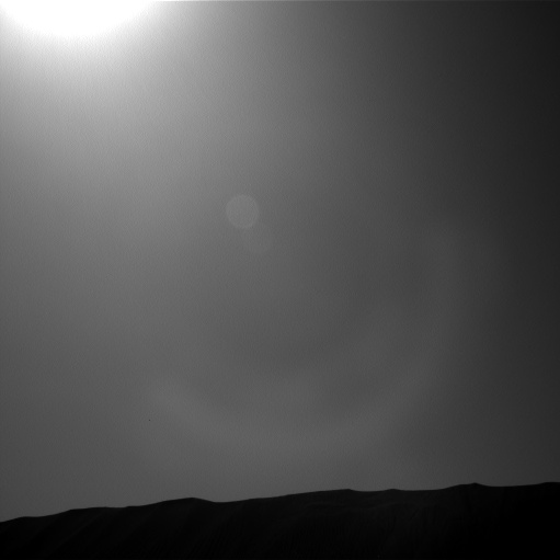 Nasa's Mars rover Curiosity acquired this image using its Left Navigation Camera on Sol 1199, at drive 0, site number 52