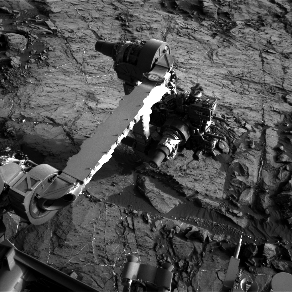 Nasa's Mars rover Curiosity acquired this image using its Left Navigation Camera on Sol 1200, at drive 0, site number 52