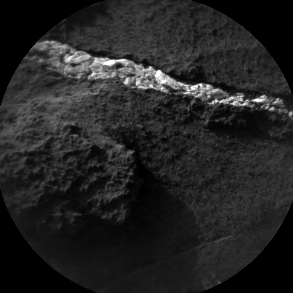 Nasa's Mars rover Curiosity acquired this image using its Chemistry & Camera (ChemCam) on Sol 1200, at drive 0, site number 52