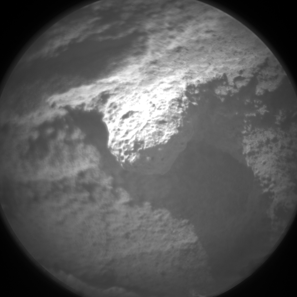 Nasa's Mars rover Curiosity acquired this image using its Chemistry & Camera (ChemCam) on Sol 1201, at drive 0, site number 52