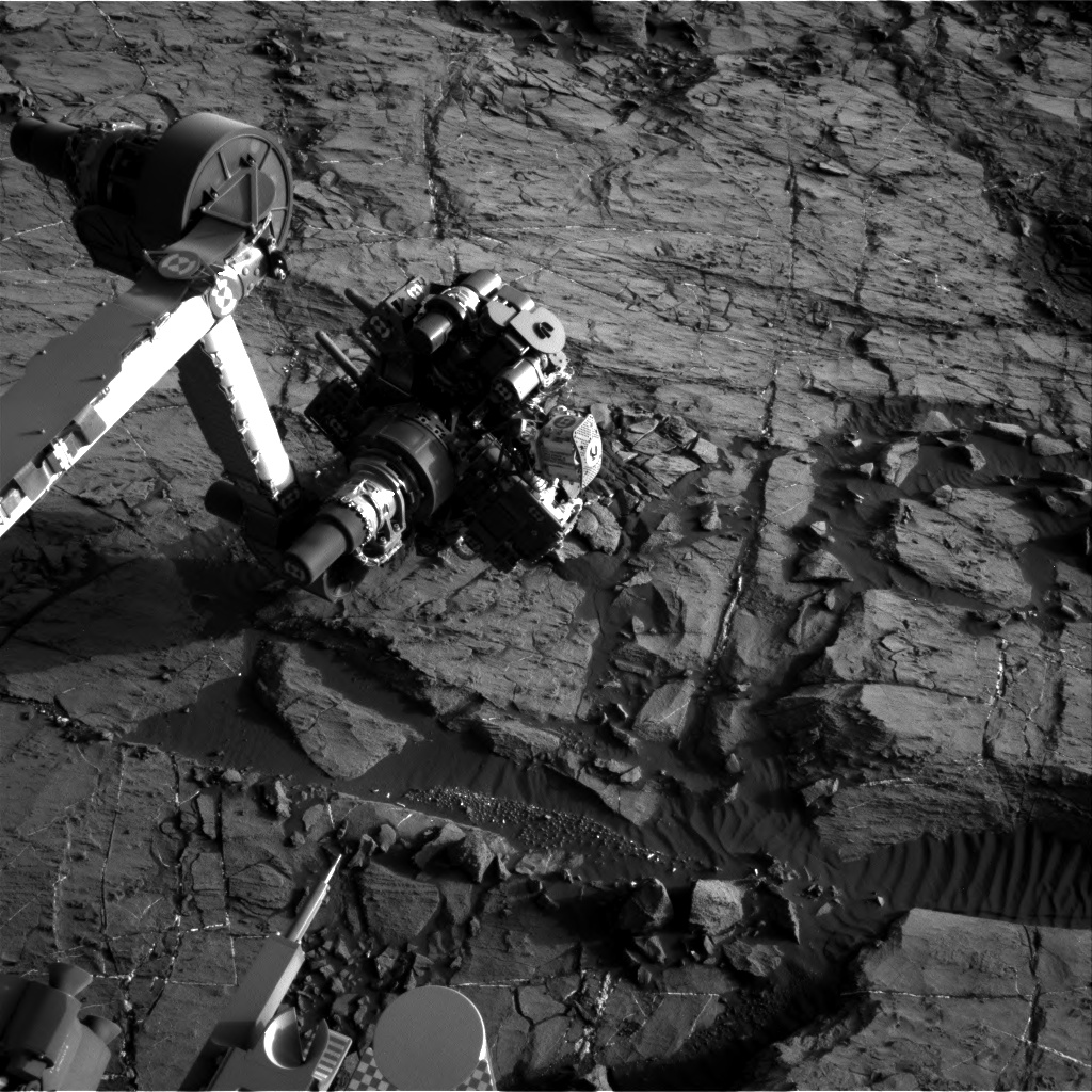 Nasa's Mars rover Curiosity acquired this image using its Right Navigation Camera on Sol 1202, at drive 0, site number 52
