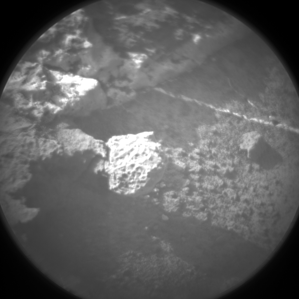 Nasa's Mars rover Curiosity acquired this image using its Chemistry & Camera (ChemCam) on Sol 1203, at drive 0, site number 52