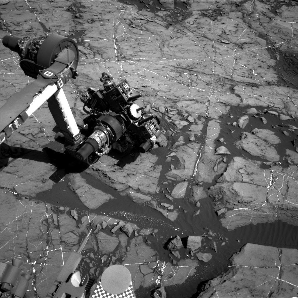 Nasa's Mars rover Curiosity acquired this image using its Right Navigation Camera on Sol 1203, at drive 0, site number 52