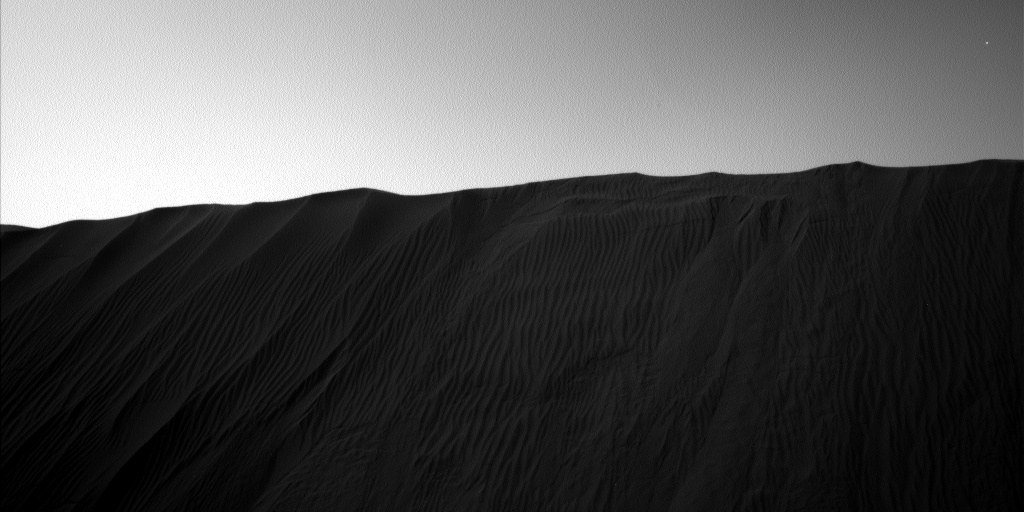 Nasa's Mars rover Curiosity acquired this image using its Left Navigation Camera on Sol 1204, at drive 0, site number 52