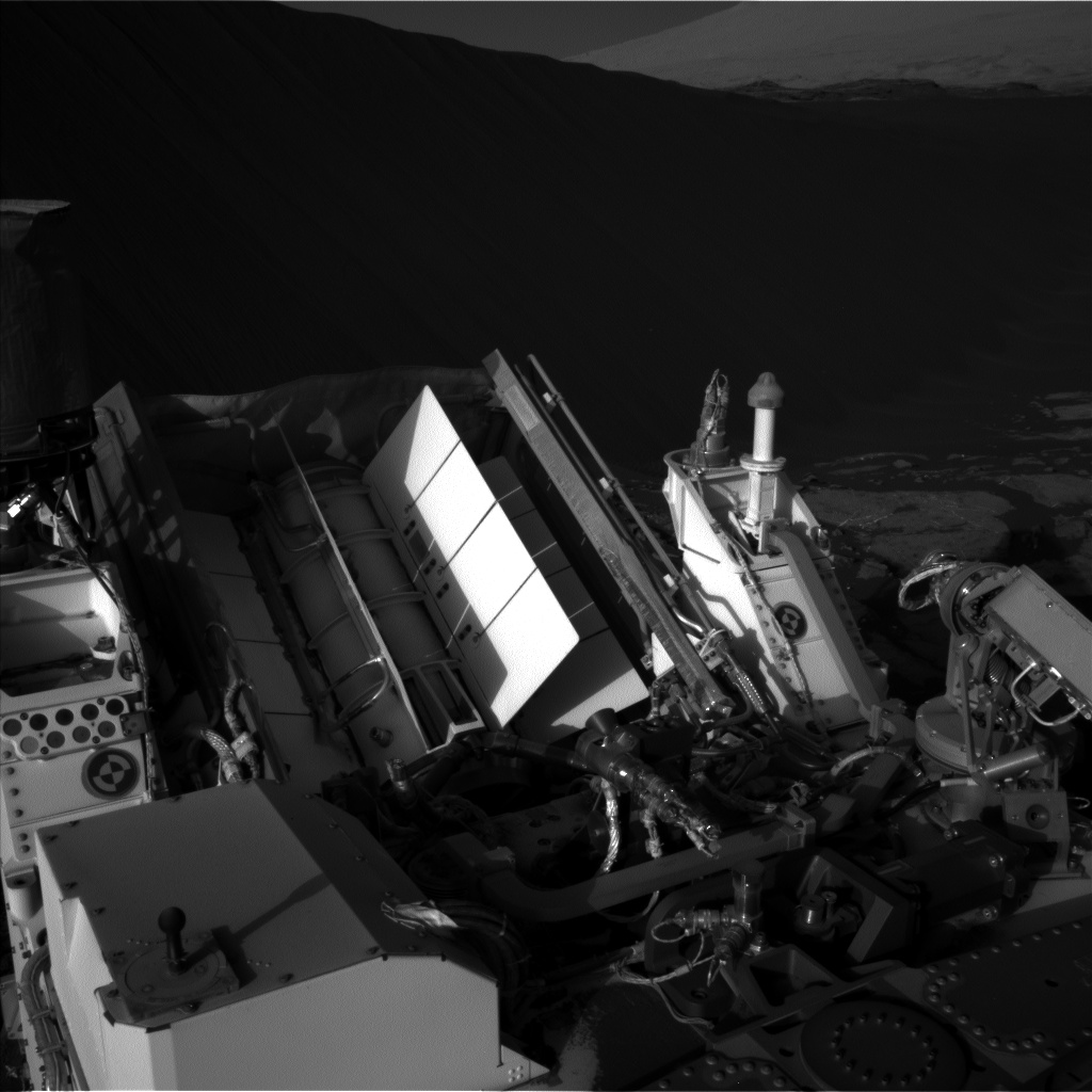 Nasa's Mars rover Curiosity acquired this image using its Left Navigation Camera on Sol 1204, at drive 4, site number 52