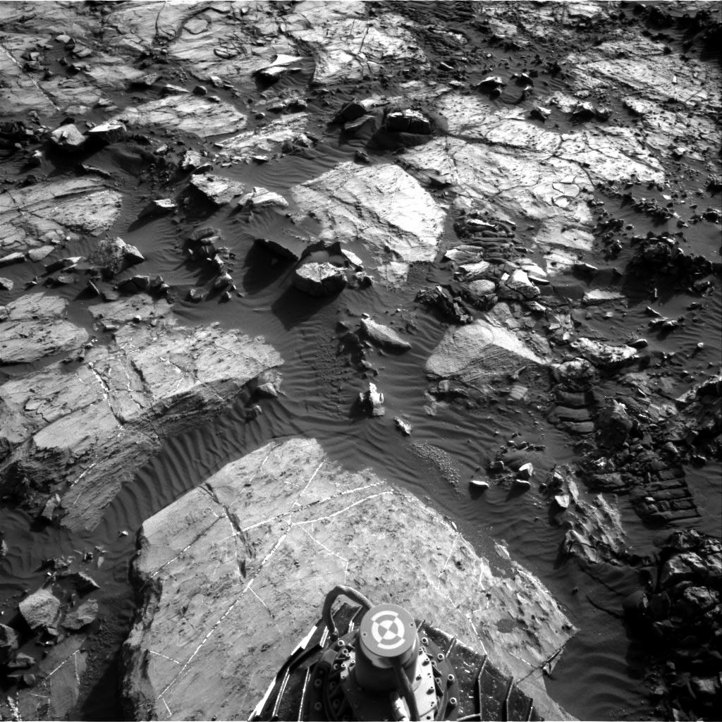 Nasa's Mars rover Curiosity acquired this image using its Right Navigation Camera on Sol 1204, at drive 4, site number 52