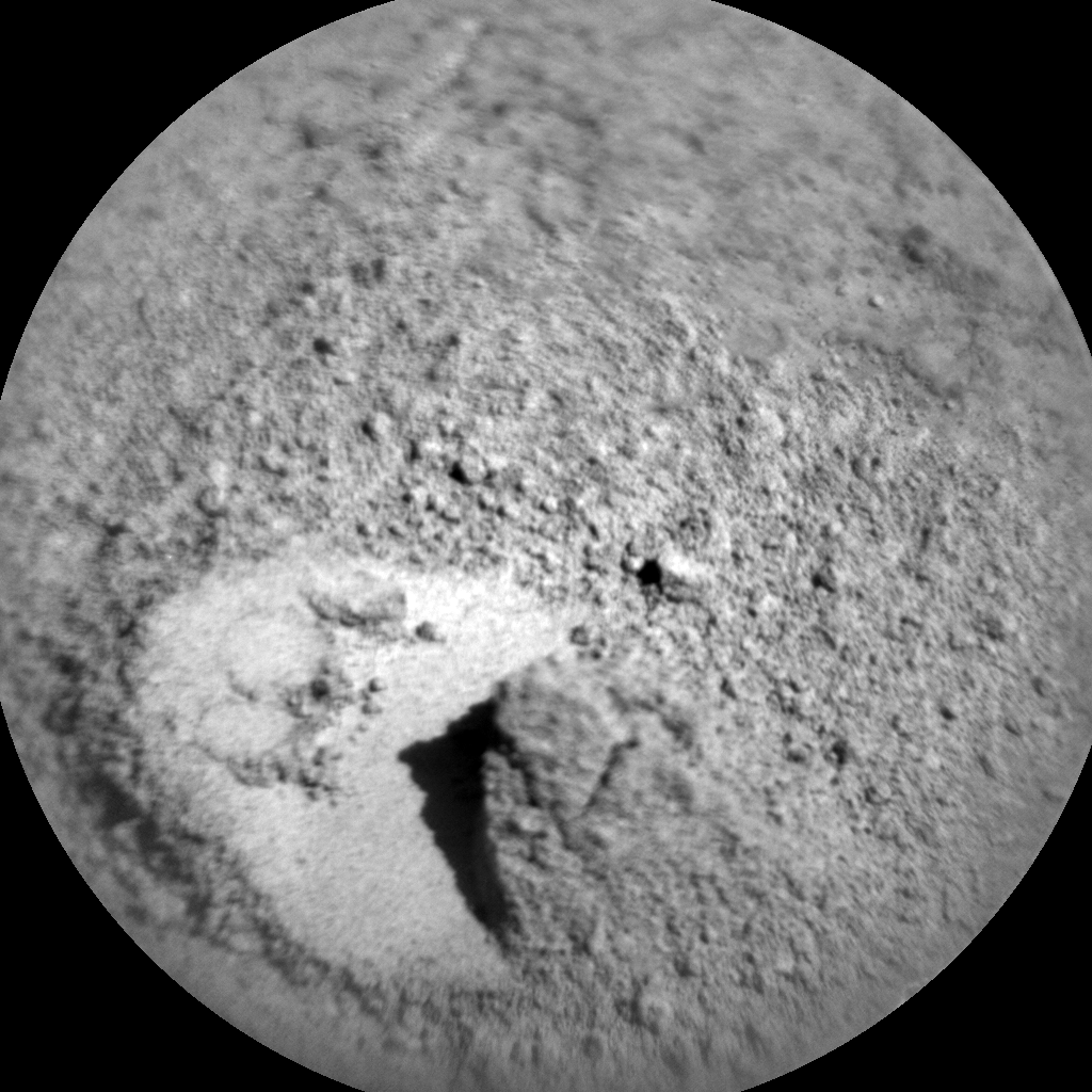 Nasa's Mars rover Curiosity acquired this image using its Chemistry & Camera (ChemCam) on Sol 1204, at drive 0, site number 52