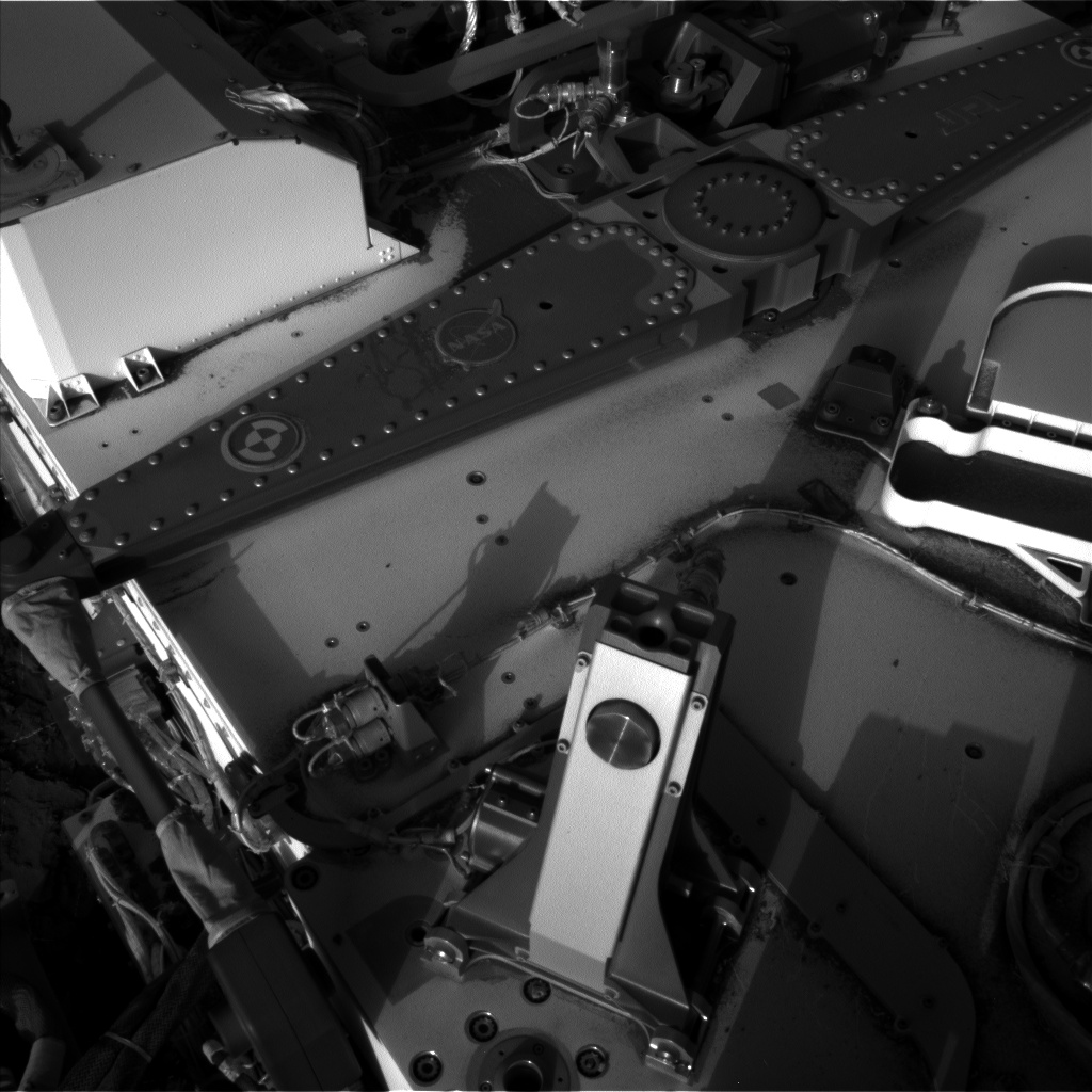 Nasa's Mars rover Curiosity acquired this image using its Left Navigation Camera on Sol 1206, at drive 4, site number 52