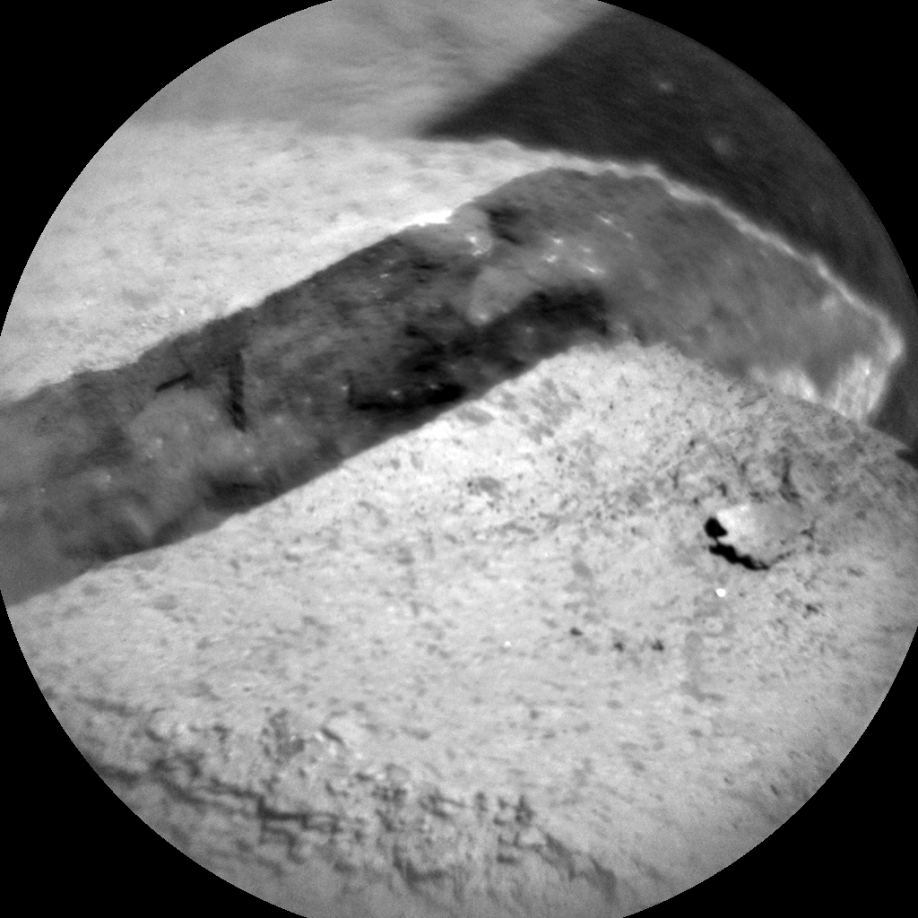 Nasa's Mars rover Curiosity acquired this image using its Chemistry & Camera (ChemCam) on Sol 1214, at drive 4, site number 52