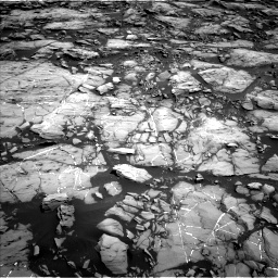 Nasa's Mars rover Curiosity acquired this image using its Left Navigation Camera on Sol 1215, at drive 28, site number 52