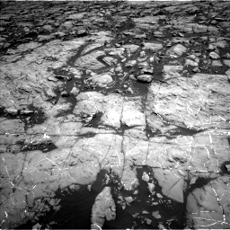Nasa's Mars rover Curiosity acquired this image using its Left Navigation Camera on Sol 1215, at drive 46, site number 52