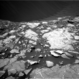 Nasa's Mars rover Curiosity acquired this image using its Left Navigation Camera on Sol 1215, at drive 70, site number 52