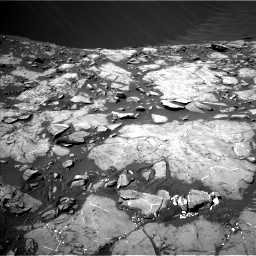 Nasa's Mars rover Curiosity acquired this image using its Left Navigation Camera on Sol 1215, at drive 82, site number 52