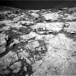 Nasa's Mars rover Curiosity acquired this image using its Left Navigation Camera on Sol 1215, at drive 94, site number 52