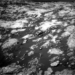 Nasa's Mars rover Curiosity acquired this image using its Left Navigation Camera on Sol 1215, at drive 190, site number 52