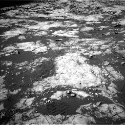 Nasa's Mars rover Curiosity acquired this image using its Left Navigation Camera on Sol 1215, at drive 220, site number 52