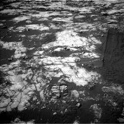Nasa's Mars rover Curiosity acquired this image using its Left Navigation Camera on Sol 1215, at drive 232, site number 52