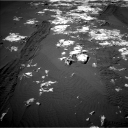 Nasa's Mars rover Curiosity acquired this image using its Left Navigation Camera on Sol 1215, at drive 268, site number 52