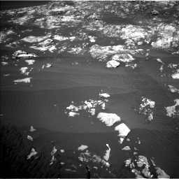 Nasa's Mars rover Curiosity acquired this image using its Left Navigation Camera on Sol 1215, at drive 316, site number 52