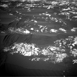 Nasa's Mars rover Curiosity acquired this image using its Left Navigation Camera on Sol 1215, at drive 346, site number 52