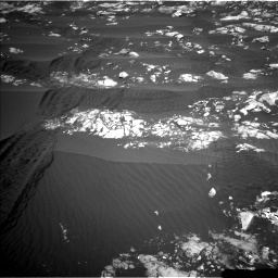 Nasa's Mars rover Curiosity acquired this image using its Left Navigation Camera on Sol 1215, at drive 352, site number 52