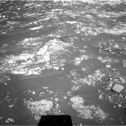 Nasa's Mars rover Curiosity acquired this image using its Left Navigation Camera on Sol 1215, at drive 394, site number 52