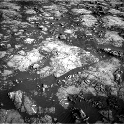 Nasa's Mars rover Curiosity acquired this image using its Left Navigation Camera on Sol 1215, at drive 538, site number 52